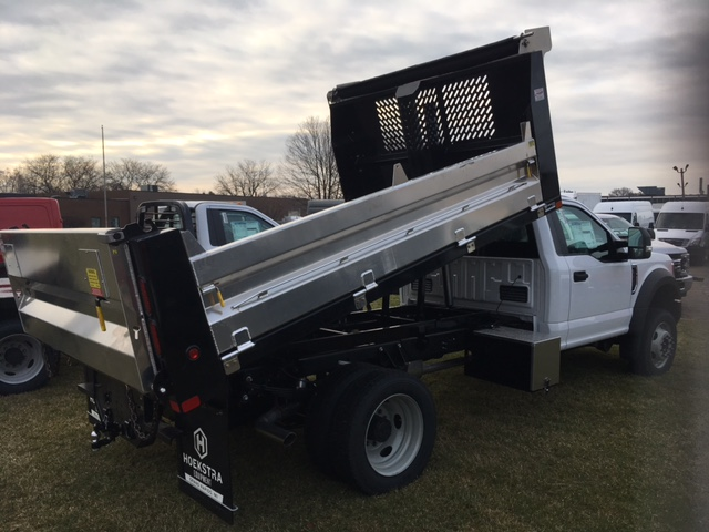 2017 F-550 Regular Cab DRW 4x4, Dump Body #HEC83234 - photo 2