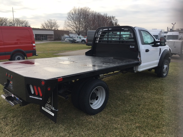 2017 F-450 Regular Cab DRW 4x4, Platform Body #HEC91311 - photo 2