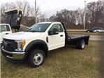 2017 F-450 Regular Cab DRW 4x4, Platform Body #HEC91311 - photo 1