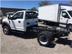 2017 F-450 Regular Cab DRW 4x4, Hoekstra Equipment Cab Chassis #HEC98715 - photo 1