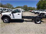 2017 F-450 Regular Cab DRW 4x4, Hoekstra Equipment Cab Chassis #HED19793 - photo 1