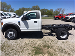 2017 F-550 Regular Cab DRW 4x4, Hoekstra Equipment Cab Chassis #HED19795 - photo 1