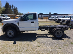 2017 F-550 Regular Cab DRW 4x4, Hoekstra Equipment Cab Chassis #HED19796 - photo 1