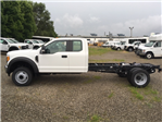 2017 F-550 Super Cab DRW, Hoekstra Equipment Cab Chassis #HED60612 - photo 1