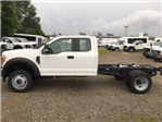 2017 F-550 Super Cab DRW 4x4, Hoekstra Equipment Cab Chassis #HED60615 - photo 1