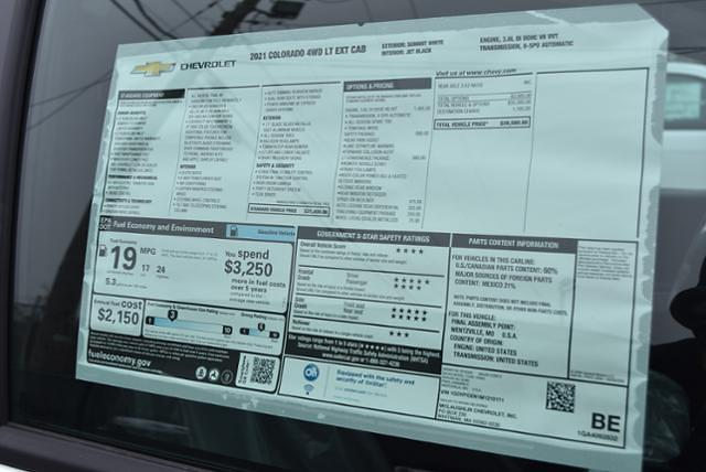 2021 Chevrolet Colorado Extended Cab 4x4, Pickup #21265 - photo 10