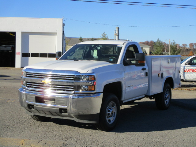 2017 Silverado 2500 Regular Cab 4x4, Reading Classic II Steel Service Body #T1604 - photo 5