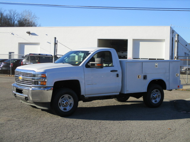 2017 Silverado 2500 Regular Cab 4x4, Reading Classic II Steel Service Body #T1604 - photo 7
