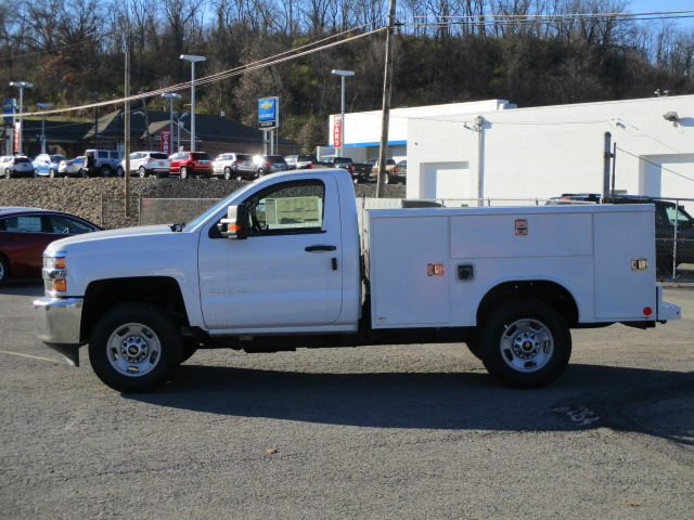 2017 Silverado 2500 Regular Cab 4x4, Reading Classic II Steel Service Body #T1604 - photo 8