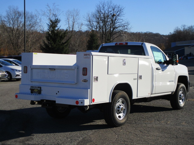 2017 Silverado 2500 Regular Cab 4x4, Reading Classic II Steel Service Body #T1604 - photo 2