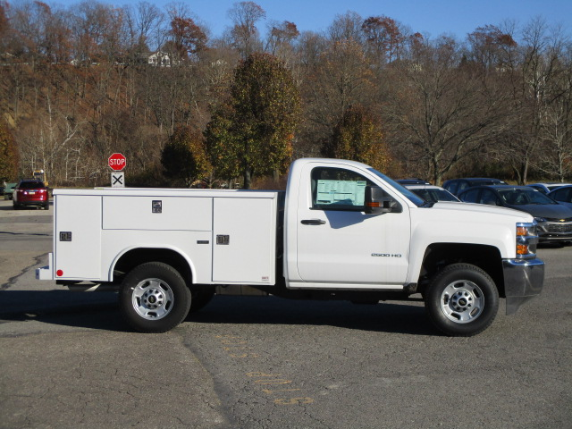 2017 Silverado 2500 Regular Cab 4x4, Reading Classic II Steel Service Body #T1604 - photo 15