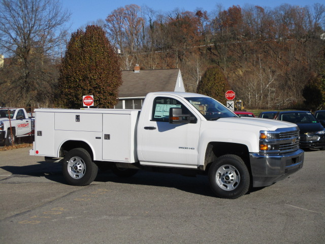 2017 Silverado 2500 Regular Cab 4x4, Reading Classic II Steel Service Body #T1604 - photo 16