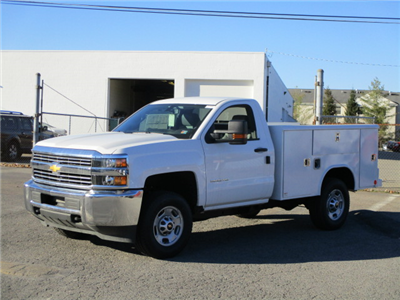 2017 Silverado 2500 Regular Cab 4x4, Reading Classic II Steel Service Body #T1604 - photo 6