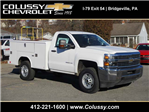 2017 Silverado 2500 Regular Cab 4x4, Reading Classic II Steel Service Body #T1604 - photo 1