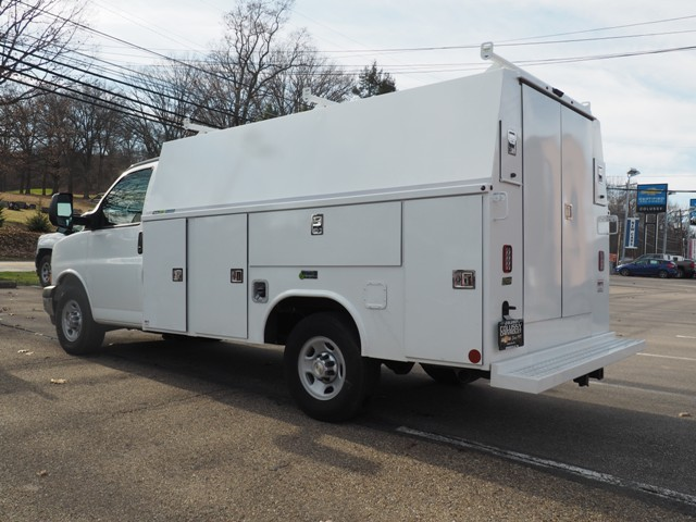 2017 Express 3500, Reading Aluminum CSV Service Utility Van #T2090 - photo 4