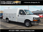2017 Express 3500, Reading Aluminum CSV Service Utility Van #T2090 - photo 1
