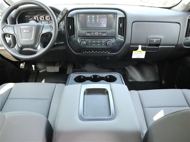 2019 Sierra 3500 Crew Cab DRW 4x4, Hillsboro GII Steel Platform Body #F19481 - photo 7