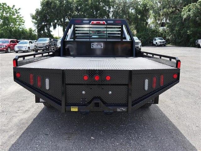 2019 Sierra 3500 Crew Cab DRW 4x4, Hillsboro GII Steel Platform Body #F19521 - photo 5
