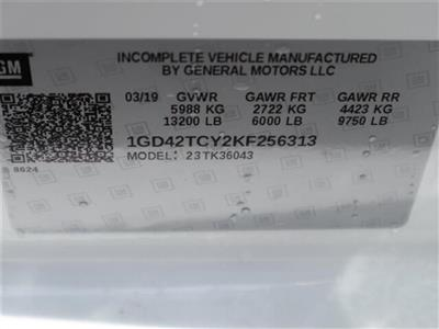 2019 Sierra 3500 Crew Cab DRW 4x4, Hillsboro GII Steel Platform Body #F19521 - photo 16