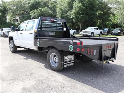 2019 Sierra 3500 Crew Cab DRW 4x4, Hillsboro GII Steel Platform Body #F19521 - photo 2