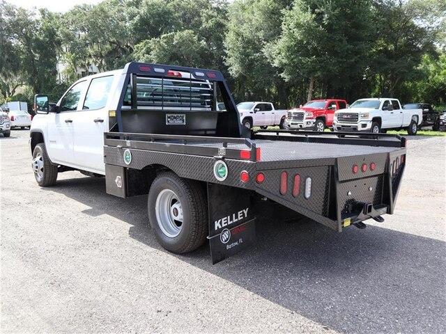 2019 Sierra 3500 Crew Cab DRW 4x4,  Hillsboro Platform Body #F19522 - photo 1