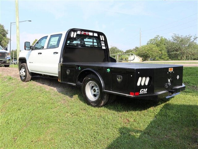 2019 Sierra 3500 Crew Cab DRW 4x4,  CM Truck Beds Platform Body #F19638 - photo 1