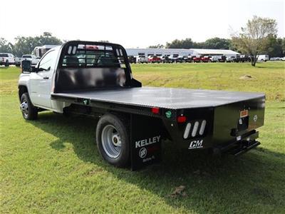 2019 Sierra 3500 Regular Cab DRW 4x4, CM Truck Beds RD Model Platform Body #F19640 - photo 2
