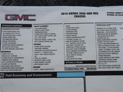 2019 Sierra 3500 Regular Cab DRW 4x4, CM Truck Beds RD Model Platform Body #F19783T - photo 15