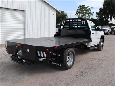 2019 Sierra 3500 Regular Cab DRW 4x4, CM Truck Beds RD Model Platform Body #F19783T - photo 2