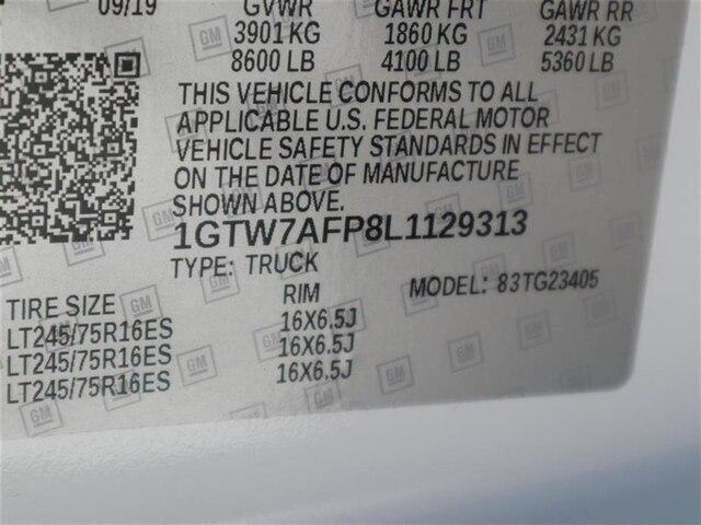 2020 Savana 2500 4x2, Adrian Steel Commercial Shelving Upfitted Cargo Van #F20166 - photo 16