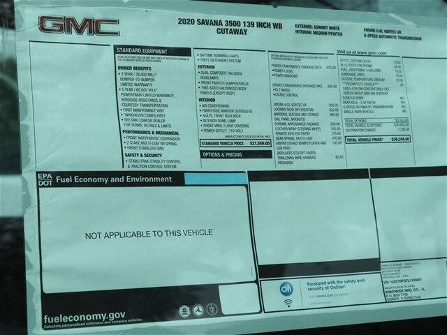 2020 GMC Savana 3500 RWD, Knapheide KUV Service Utility Van #F20507 - photo 15