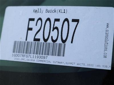 2020 GMC Savana 3500 RWD, Knapheide KUV Service Utility Van #F20507 - photo 16
