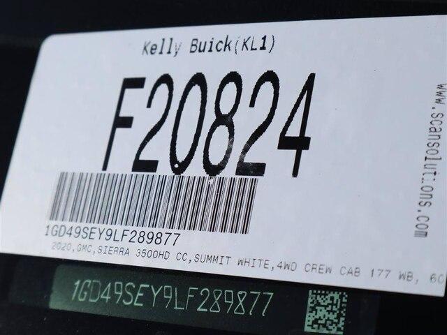 2020 GMC Sierra 3500 Crew Cab 4x4, Hillsboro GII Steel Platform Body #F20824 - photo 16