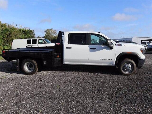 2020 GMC Sierra 3500 Crew Cab 4x4, Hillsboro GII Steel Platform Body #F20824 - photo 4