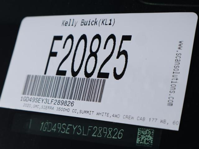 2020 GMC Sierra 3500 Crew Cab 4x4, Hillsboro GII Steel Platform Body #F20825 - photo 16