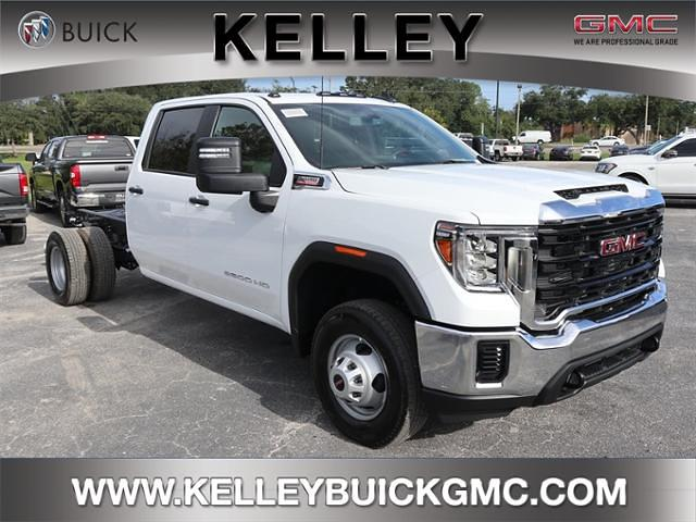 2021 GMC Sierra 3500 Crew Cab 4x4, Cab Chassis #F21166 - photo 1