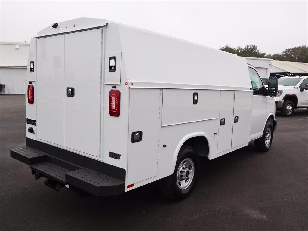 2021 GMC Savana 3500 4x2, Knapheide Service Utility Van #F21189 - photo 1