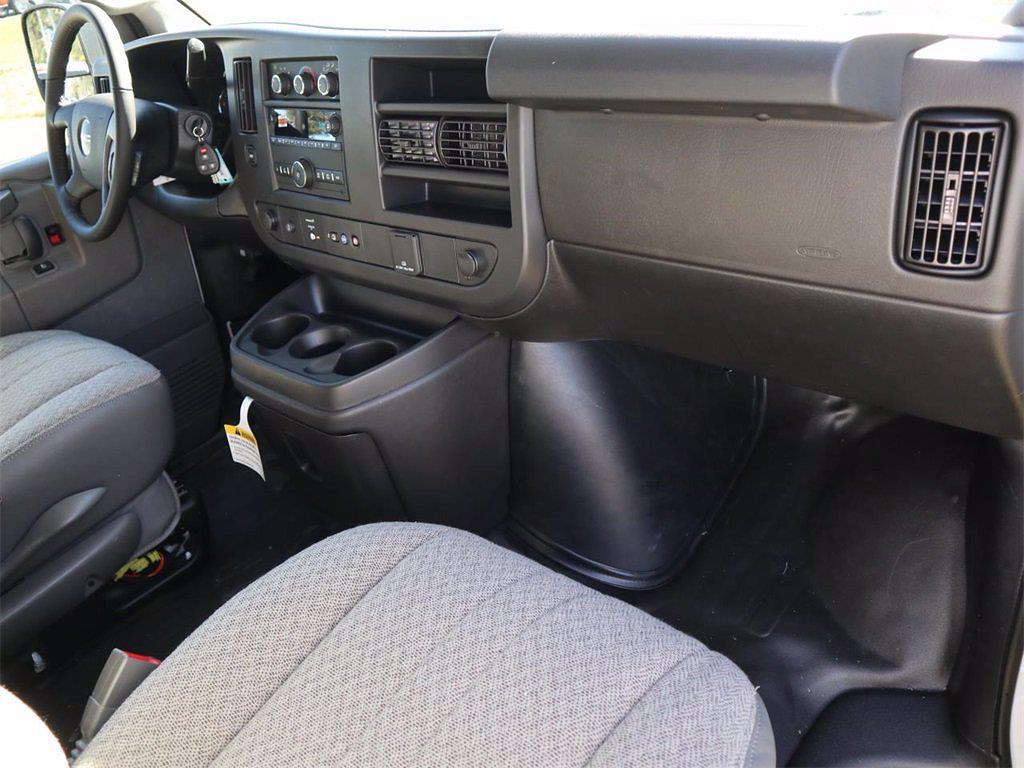 2021 GMC Savana 2500 4x2, Masterack Upfitted Cargo Van #F21306 - photo 5