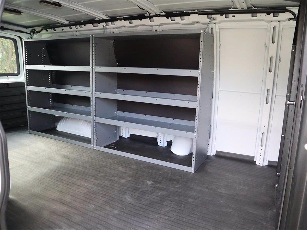 2021 GMC Savana 2500 4x2, Masterack Upfitted Cargo Van #F21309 - photo 2