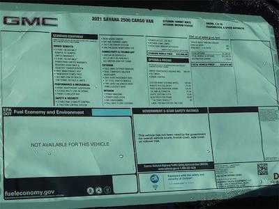 2021 GMC Savana 2500 4x2, Masterack Upfitted Cargo Van #F21309 - photo 12