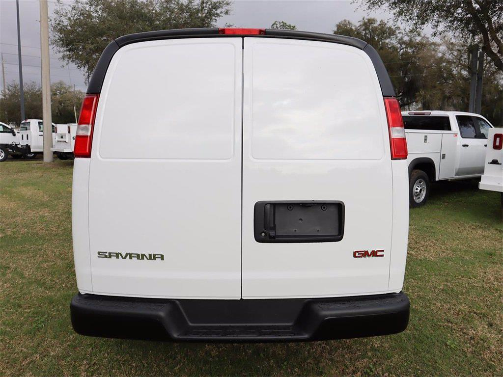 2021 GMC Savana 2500 4x2, Masterack Upfitted Cargo Van #F21337 - photo 6