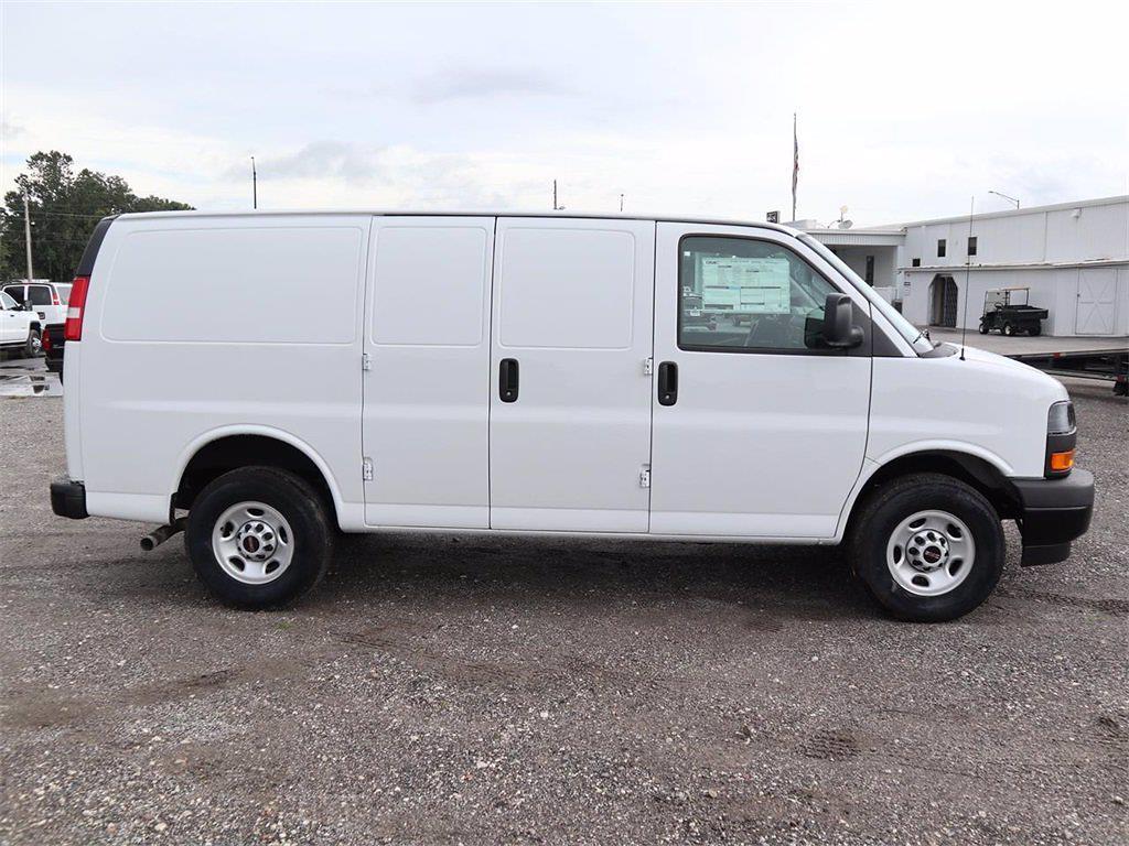 2021 GMC Savana 2500 4x2, Masterack Upfitted Cargo Van #F21339 - photo 4