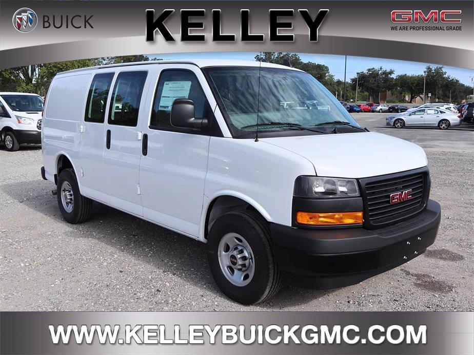 2021 GMC Savana 2500 4x2, Masterack Upfitted Cargo Van #F21340 - photo 1