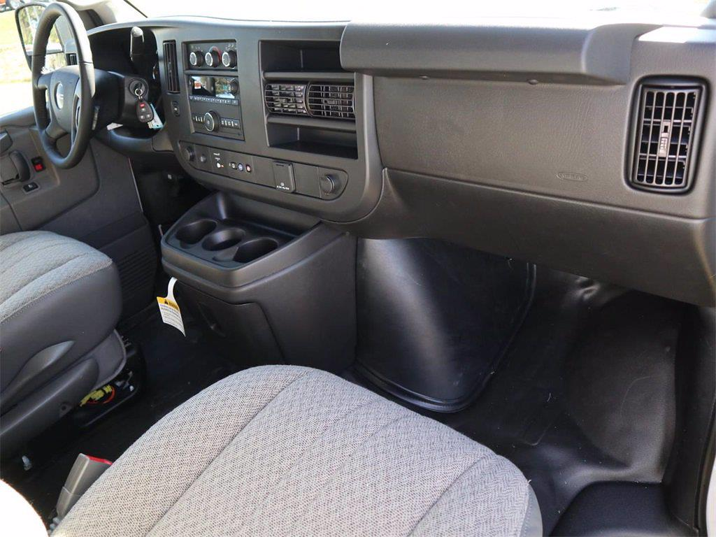 2021 GMC Savana 2500 4x2, Masterack Upfitted Cargo Van #F21344 - photo 8
