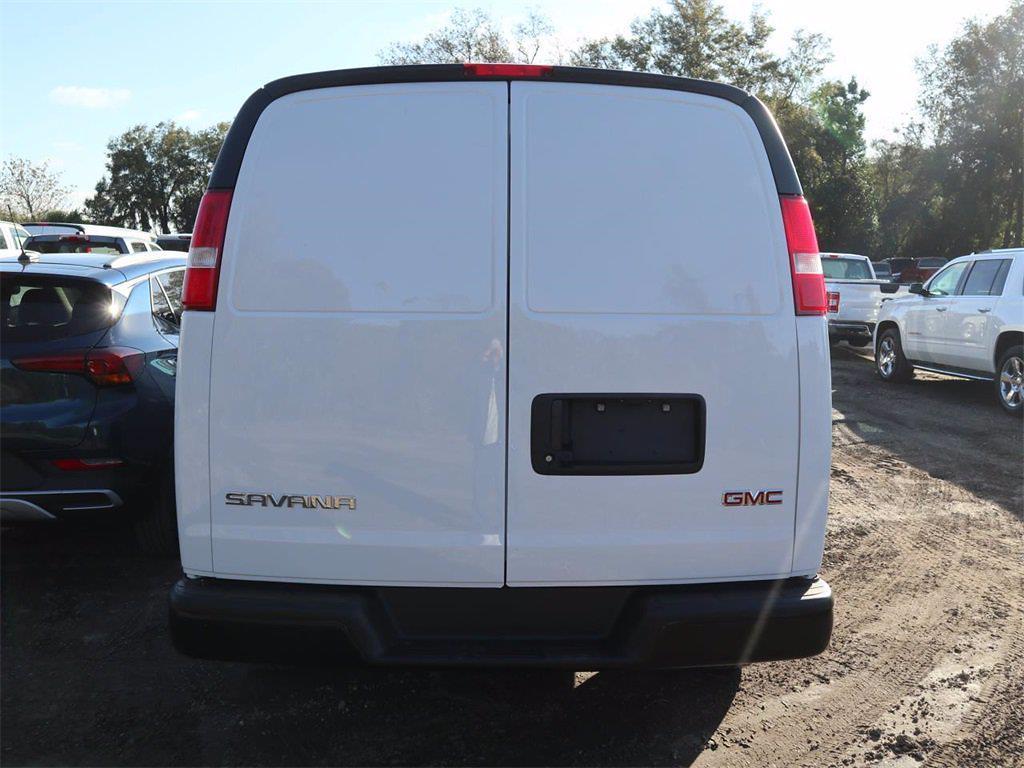 2021 GMC Savana 2500 4x2, Knapheide KVE Upfitted Cargo Van #F21380 - photo 6