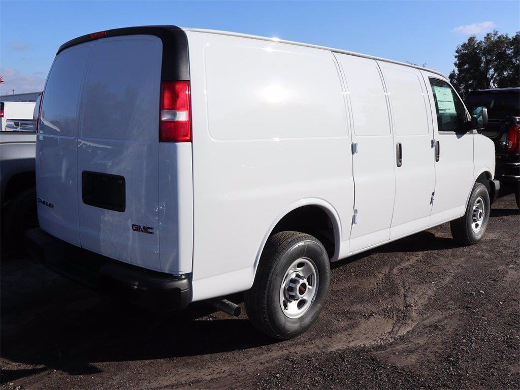 2021 GMC Savana 2500 4x2, Knapheide Upfitted Cargo Van #F21381 - photo 5