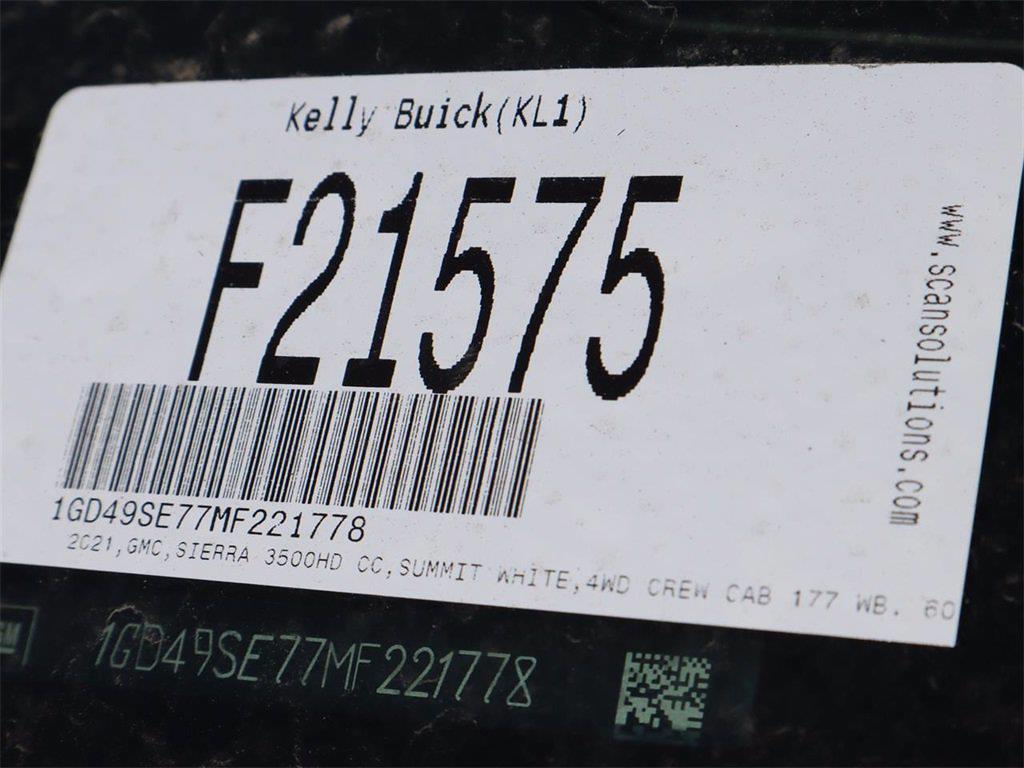 2021 GMC Sierra 3500 Crew Cab 4x4, Knapheide Steel Service Body #F21575 - photo 16