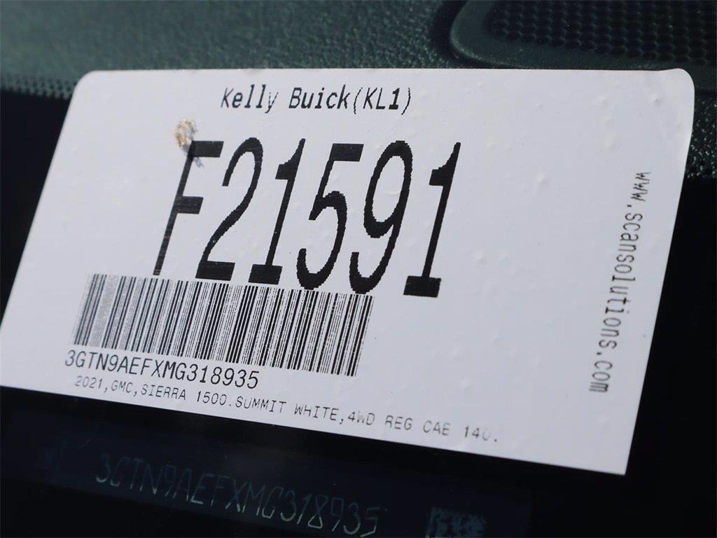 2021 GMC Sierra 1500 Regular Cab 4x4, Pickup #F21591 - photo 19