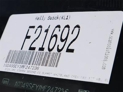 2021 GMC Sierra 3500 Crew Cab 4x4, Knapheide PGNB Gooseneck Platform Body #F21692 - photo 16
