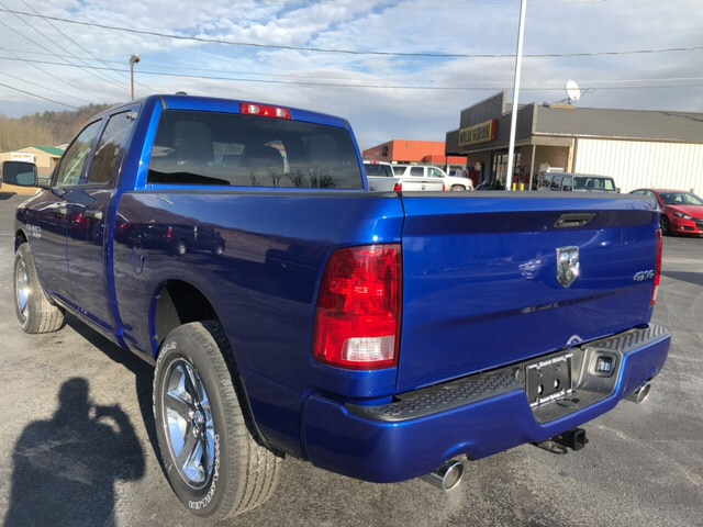 2018 Ram 1500 Quad Cab 4x4, Pickup #17481 - photo 2